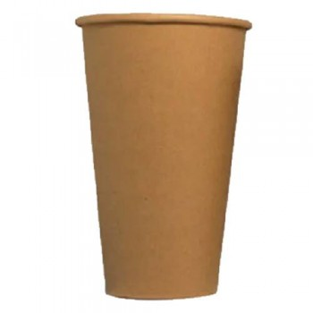 Одноразовий паперовий стакан КРАФТ 340 мл. (50 шт