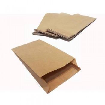 Пакет паперовий Саші бурий 250 * 90 * 40 мм