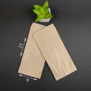 Куточок паперовий бурий Саше 210*90 мм 1000 шт
