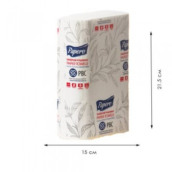 "Паперовий рушник ""Papero"" NN 160 (RN010) Z - ВУЗЬКІ"