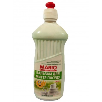 """Бальзам для посуду 0,500 мл. """"Mario"""" ЗЕЛЕНЕ ЯБЛУКО"""