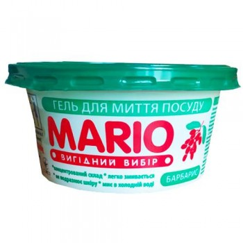 """Гель для миття посуду """"Mario"""" 240 мл"""