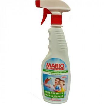 "Миючий для скла та дзеркал 500 мл. ""Mario"" ЗЕЛЕНЕ ЯБЛУКО"