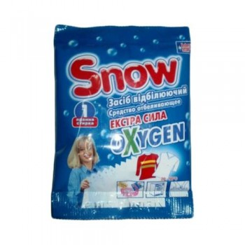 Відбілювач Snow Oxygen з активним киснем 80 г