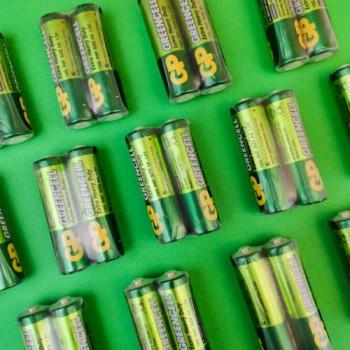 Батарейки «GP Greencell» АА 1.5V R6 СОЛЬОВІ