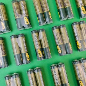 "Батарейки ААА ""GP"" Greencell сольові 1.5V R6"