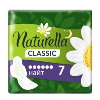 """Прокладки жіночі """"Naturella"""" 6 крапель / 7 шт  CLASSIC NIGHT"""