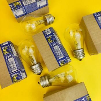 """Лампа """"Іскра"""" 60 W E27 ГОФРА"""
