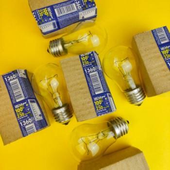 """Лампа """"Іскра"""" 100 W ГОФРА"""