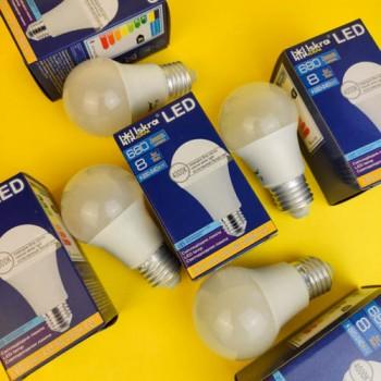 Лампа LED А60 Е27 8W 4000К