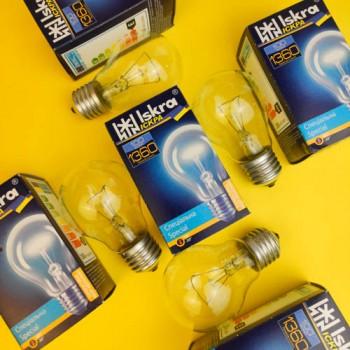 """Лампа """"Іскра"""" 100 W E27 ПР"""
