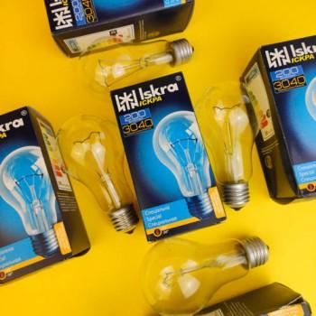 Лампа Іскра 200 W E27 ПР
