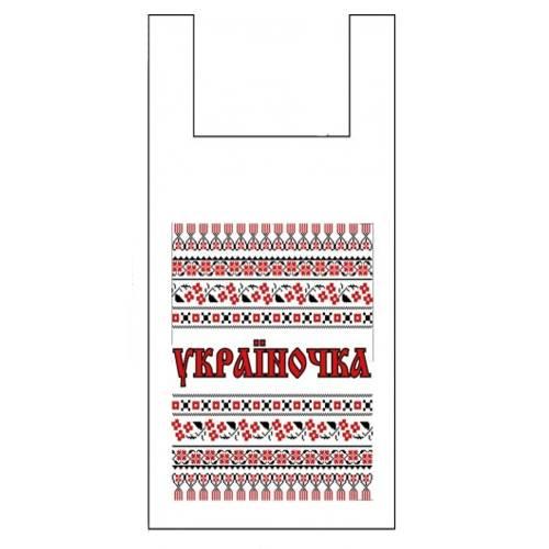 Майка пакет 30*55 ПОЛУНИЦЯ ЛЮКС 50 кг