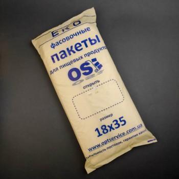 """Пакет """"фасовка"""" 18*35 ЕКО КРЕМ OS"""