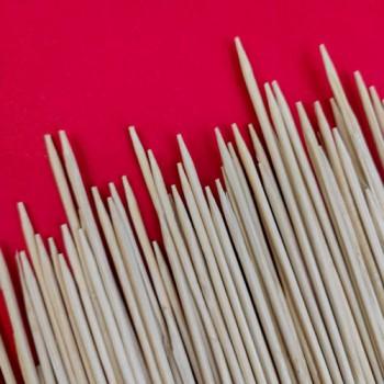 Палички для шашлику 25 см. / 100 шт