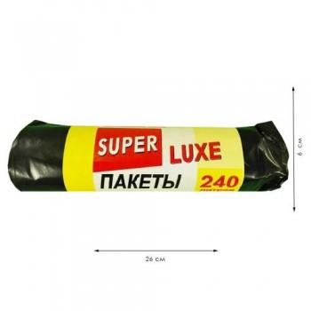 """Пакет для сміття """"Super"""" 240л/ 5 шт"""