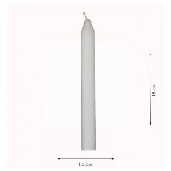 Свічка парафінова 15*180 мм БІЛА