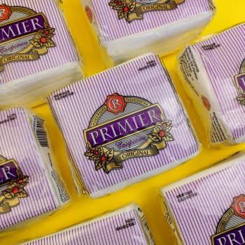 """Серветка """"Primier"""" 12 шт 35 аркушів БІЛА"""