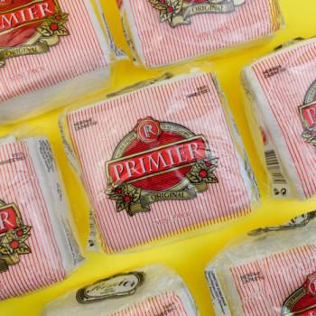 """Серветка """"Primier"""" 10 шт 45 аркушів БІЛА"""