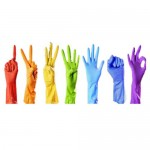 Резові рукавички