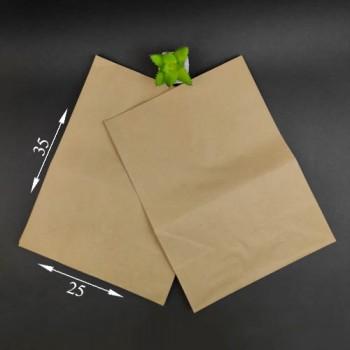 Пакет паперовий коричневий 350*250*140 мм