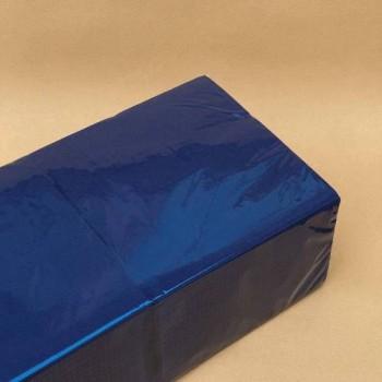 Серветки банкетні 33х33 см 1/4 2 шар. 100 шт. СИНЯ NL 525