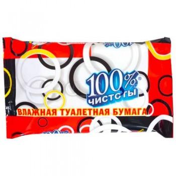 Вологий туалетний папір 100% чистоти УНІВЕРСАЛЬНА (36 шт.)