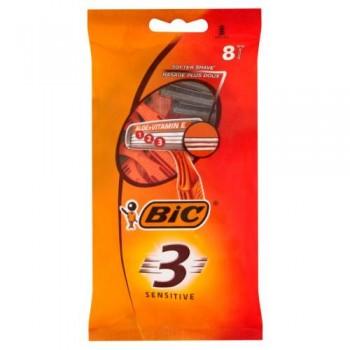 """Станок для гоління """"BIC 3"""" 8 шт. SENSETIVE"""
