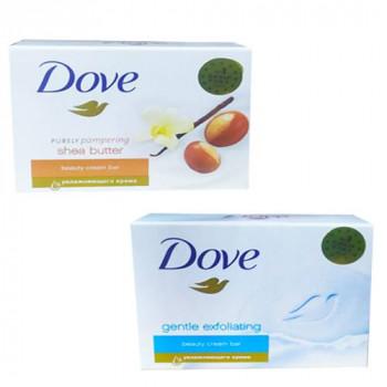 "Туалетне крем - мило ""Dove"" 100 г  АСОРТІ"
