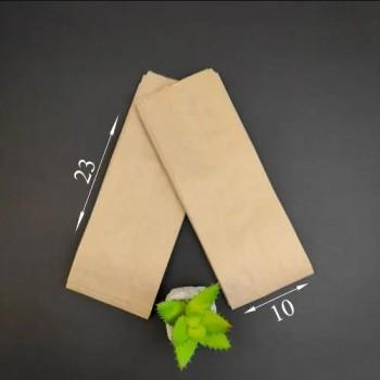 ПАКЕТ САШЕ паперовий бурий 100*40*230 (100 шт.) ВТ (001)