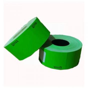 Цінник 40 х 30 зелений 500 шт.