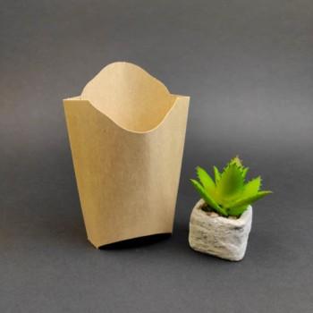 Упаковка для картоплі фрі КРАФТ