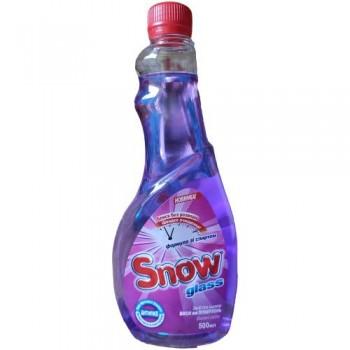 """Миючий засіб для скла та поверхонь """"Snow Glass"""" 500 мл. запаска ВЕСНЯНІ КВІТИ"""