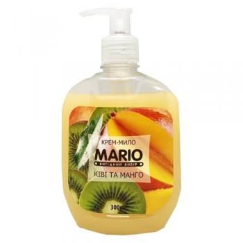 """Крем-мило 300 мл.""""Mario"""" насос КІВІ МАНГО"""