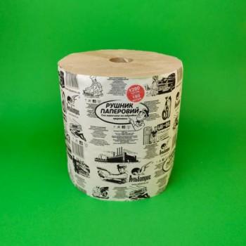 Паперовий рушник в рулоні 1280 відривів