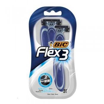 """Станок для гоління """"BIC 3"""" 3 шт. FLEX COMFORT"""