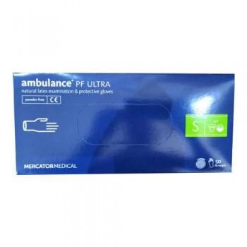 Рукавички латексні (S) Ambulancе Ultra (25 пар)