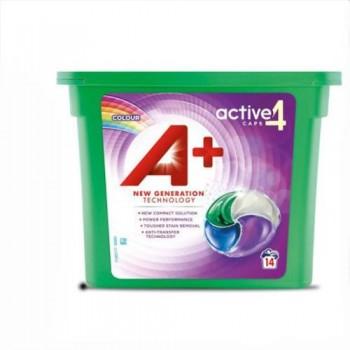 Капсули для прання А+ 4 в1 (14 шт)