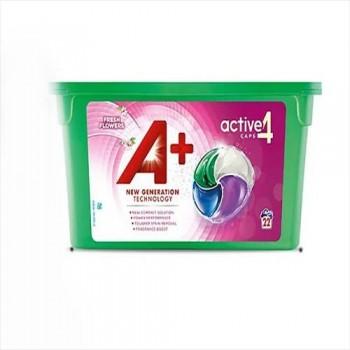 Капсули для прання А+ 4 в1 (22 шт)