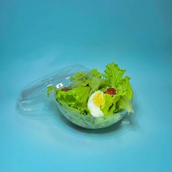 0600Д Контейнер для салату 0,6 мл. ПРОЗОРА