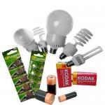 Батарейки та лампочки