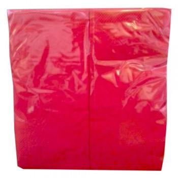 Серветки банкетні 33х33 см 1/8 2 шар. 100 шт. ЧЕРВОНА NL 526