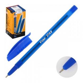 """Ручка кулькова """"Star"""" Flair 1188 50 шт. СИНЯ"""