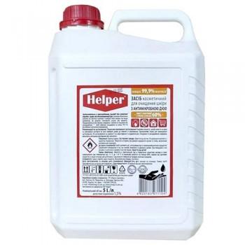"""Дезинфікуючий антибактеріальний засіб """"Helper"""" рідка форма 5 л."""